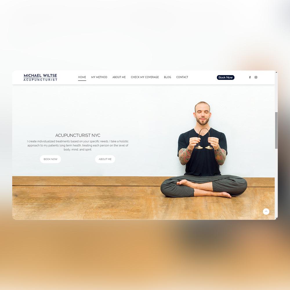 Website-Michael-home